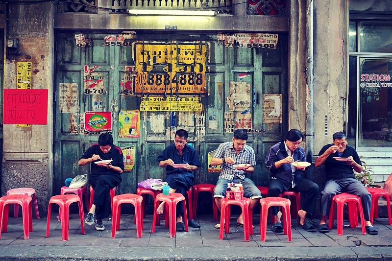 Street food, Chinatown, Bangkok