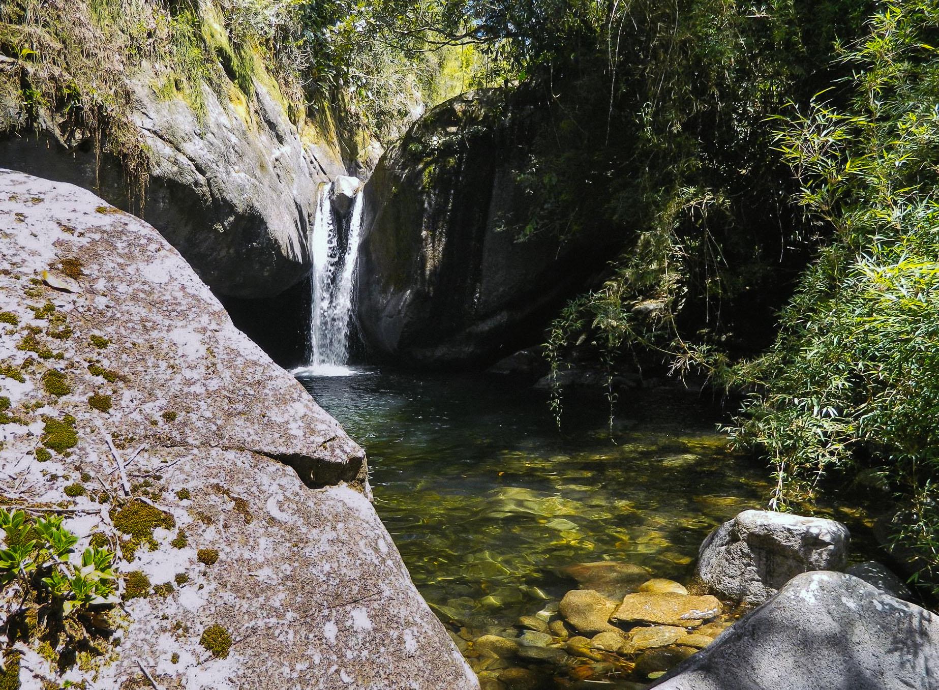 Cachoeira do Andorinhão. Foto: Giuliana Xavier
