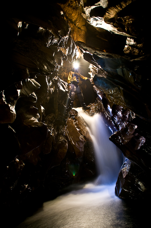 Caverna Ouro Grosso, no PETAR - foto: RS Marinelli