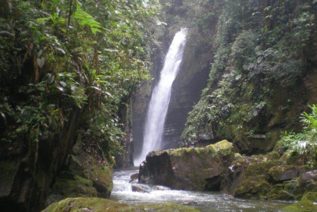 Cachoeira Andorinha no PETAR - foto: Maria Cristina Boscolo