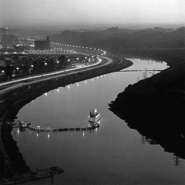 Rio Pinheiros da Ponte do Morumbi - German Lorca