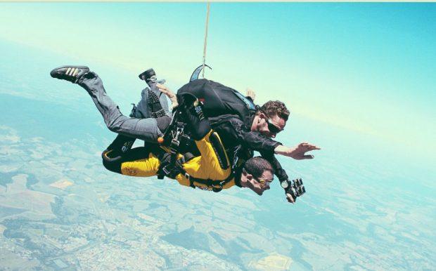 Paraquedismo - Cortesia TripAdvisor