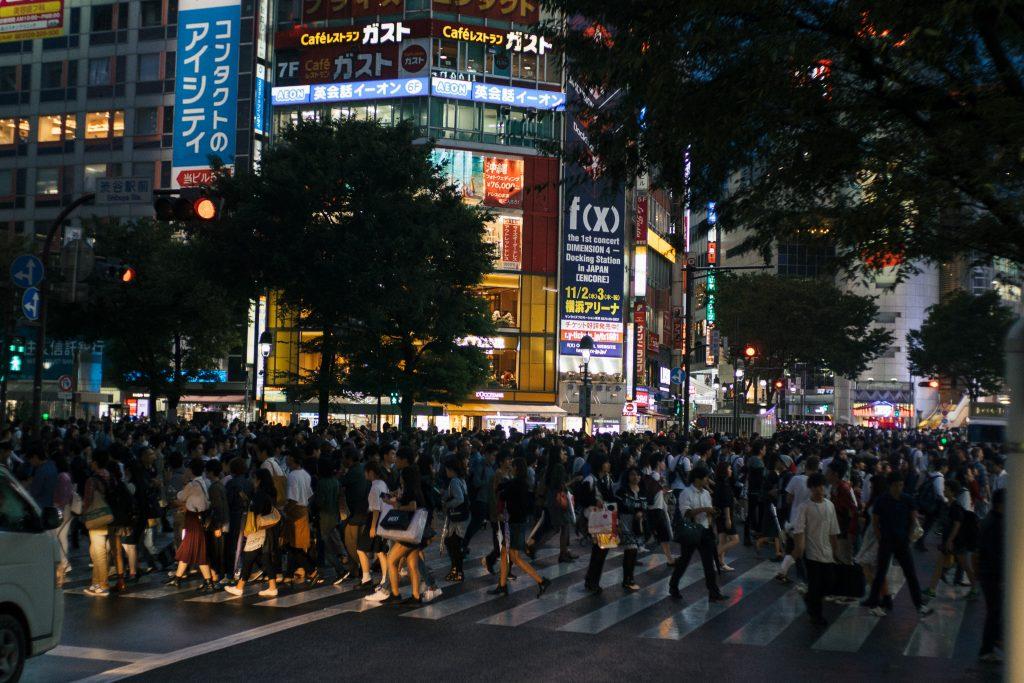 Cruzamento em Shibuya, Tóquio