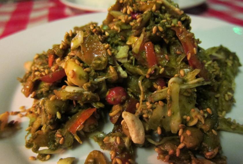 Tea Leaf Salad do The Moon - Cortesia TripAdvisor