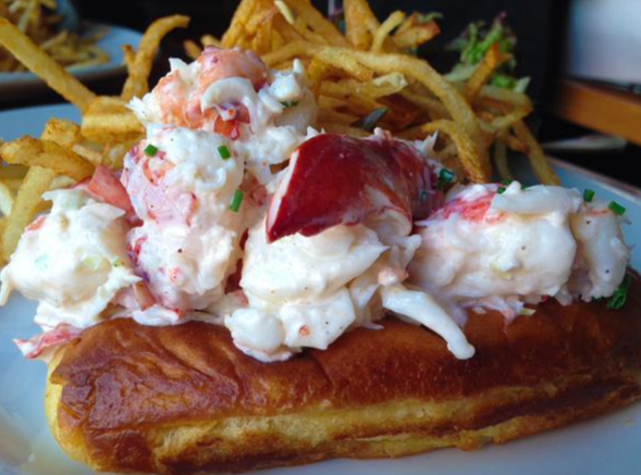 Lobster Roll do Pearl, em NY - Cortesia TripAdvisor