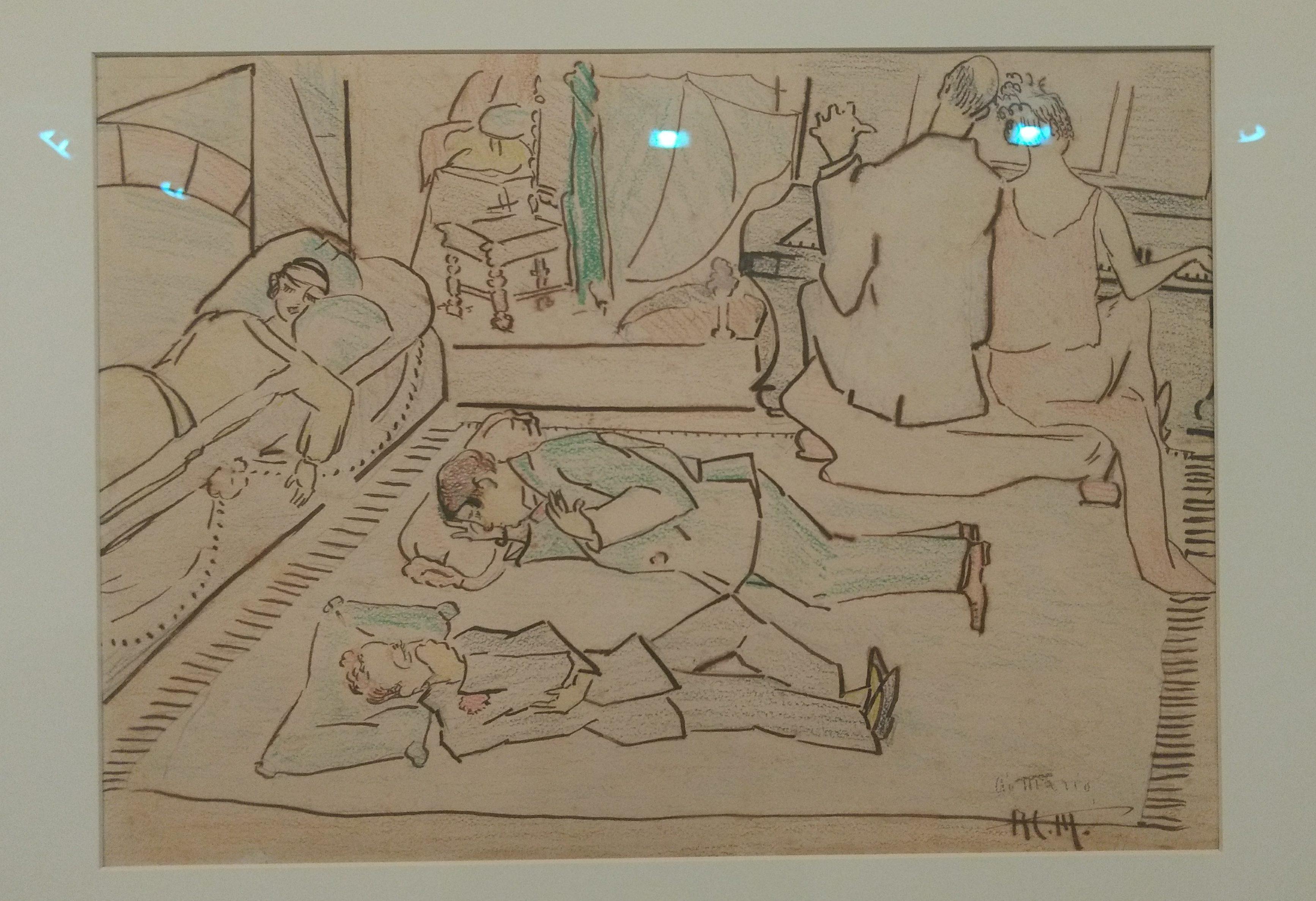 Anita Malfatti: 100 anos de arte moderna no MAM. Foto: Daniella Valentin