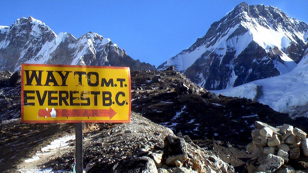 Wi-fi no Monte Everest