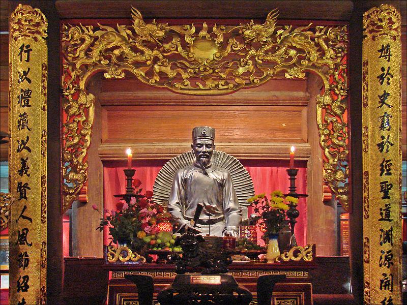 Templo da Literatura de Confúcio | Hanoi | Wikicommons - Roteiro de 1 dia em Hanoi