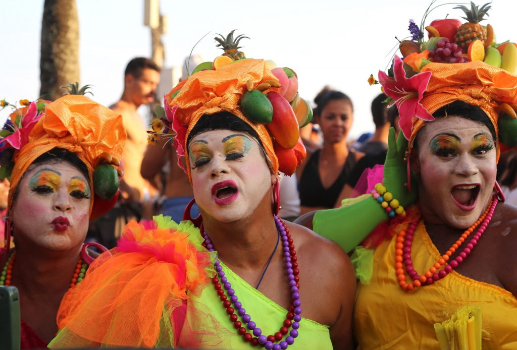 As famosas drags da Banda de Ipanema. Foto: Fernando Maia/Riotur