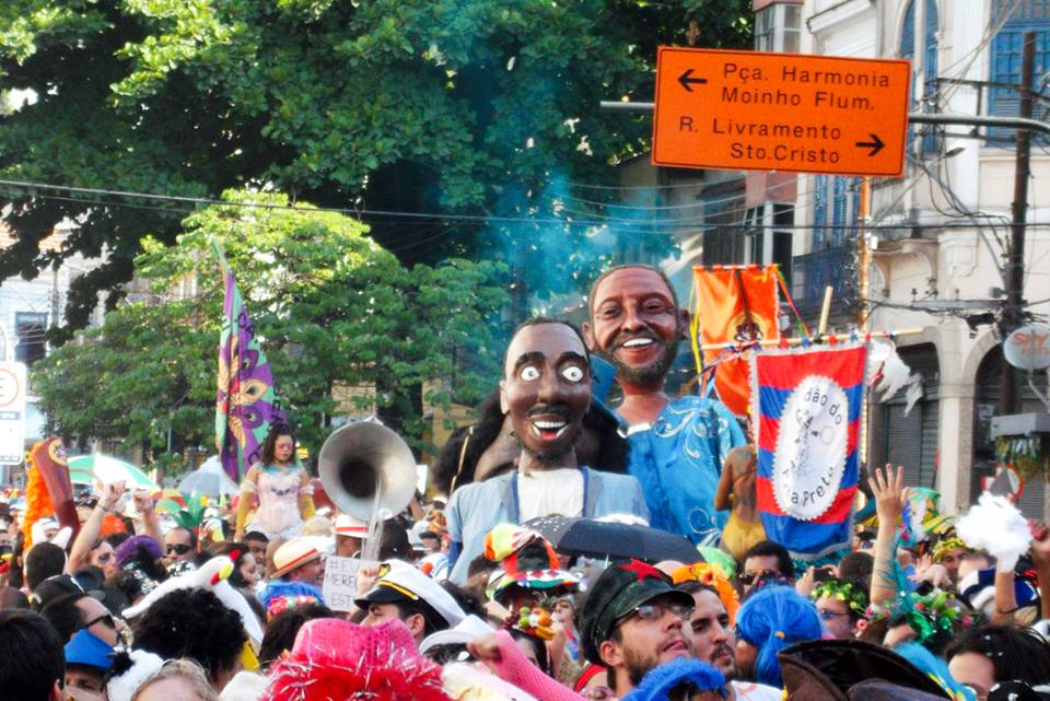 O Prata Preta é parte da revitalização do carnaval da Região Portuária. Foto: reprodução