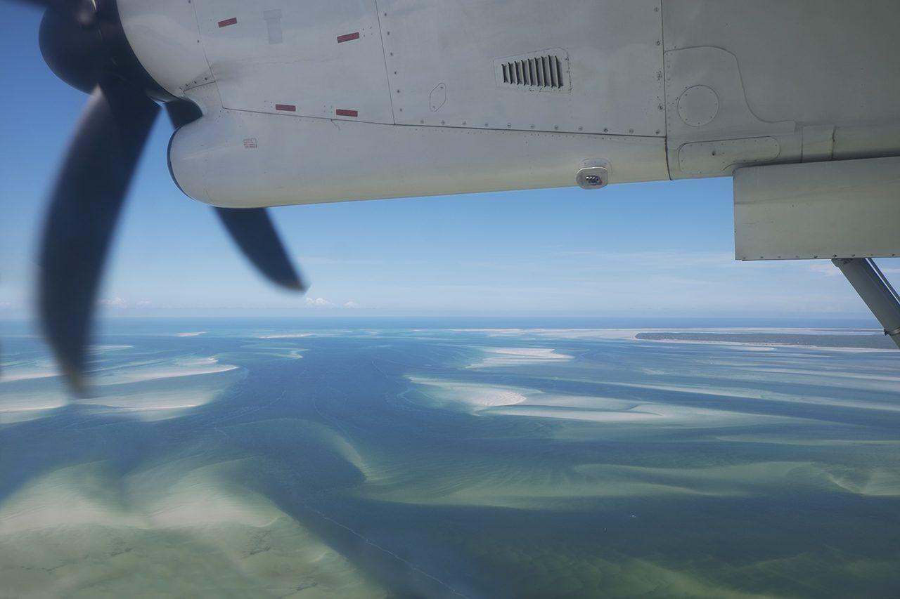 Chegada na Ilha de Benguerra - foto: André Klotz
