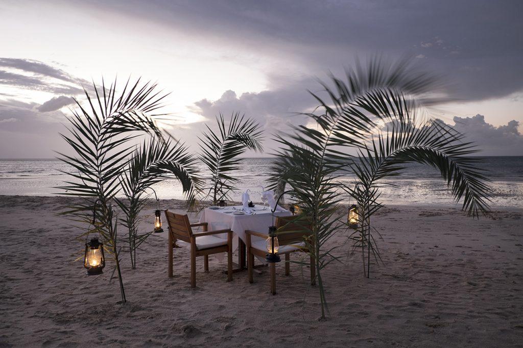 Jantar no Azura Benguerra, Moçambique - foto: André Klotz
