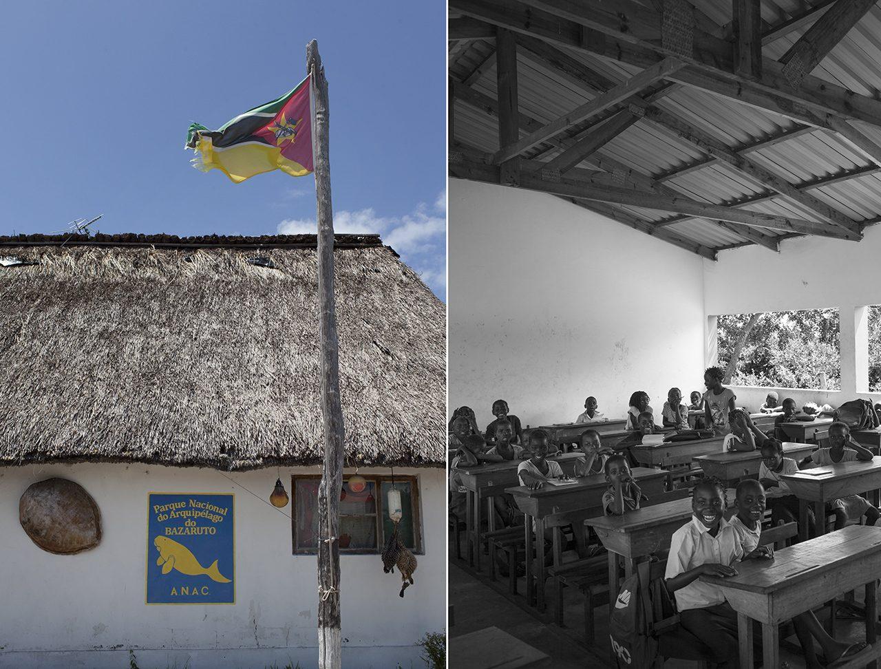 Escola In Rainbow, Ilha de Benguerra, Moçambique - foto: André Klotz