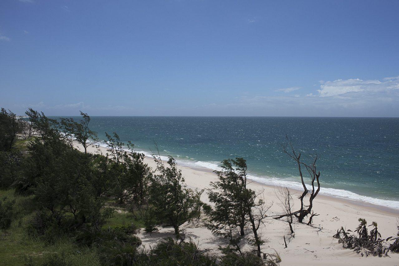 Mar aberto na Ilha de Benguerra, Moçambique - foto: André Klotz