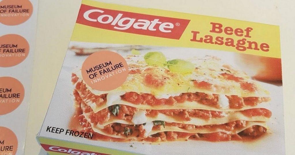 Lasagna da Colgate