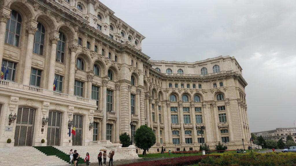 Palácio do Parlamento. Foto: Dani Valentin