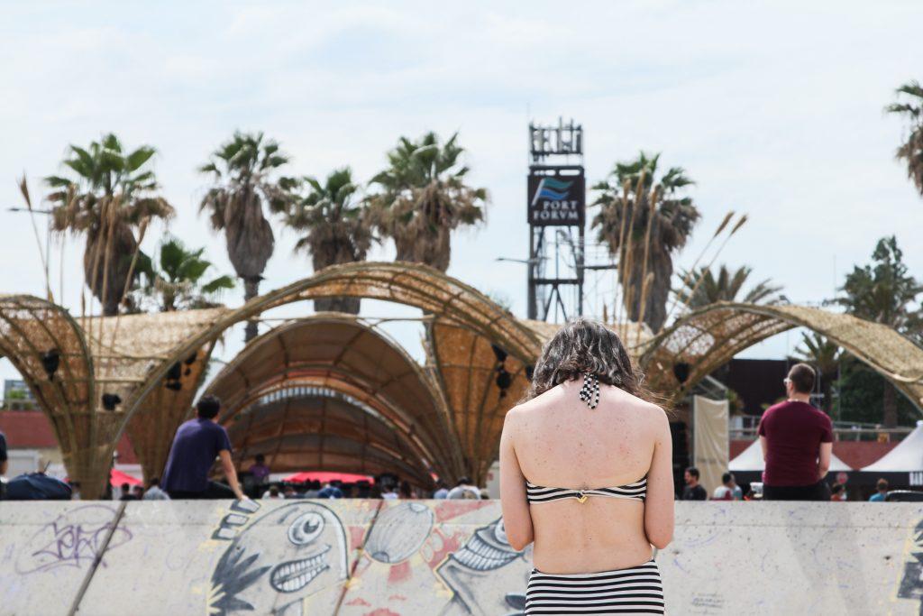 Além de tudo, o Primavera Bits ainda tem sua própria praia pós-festa.