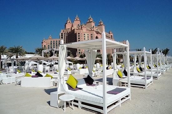 Nasimi Beach. Foto Visit Dubai