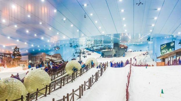 Ski Dubai. Foto: Divulgação