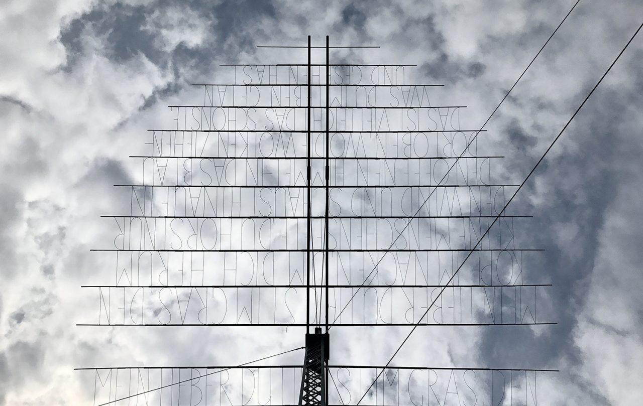 A antena do Ilya Kabakov - foto: Renato Salles