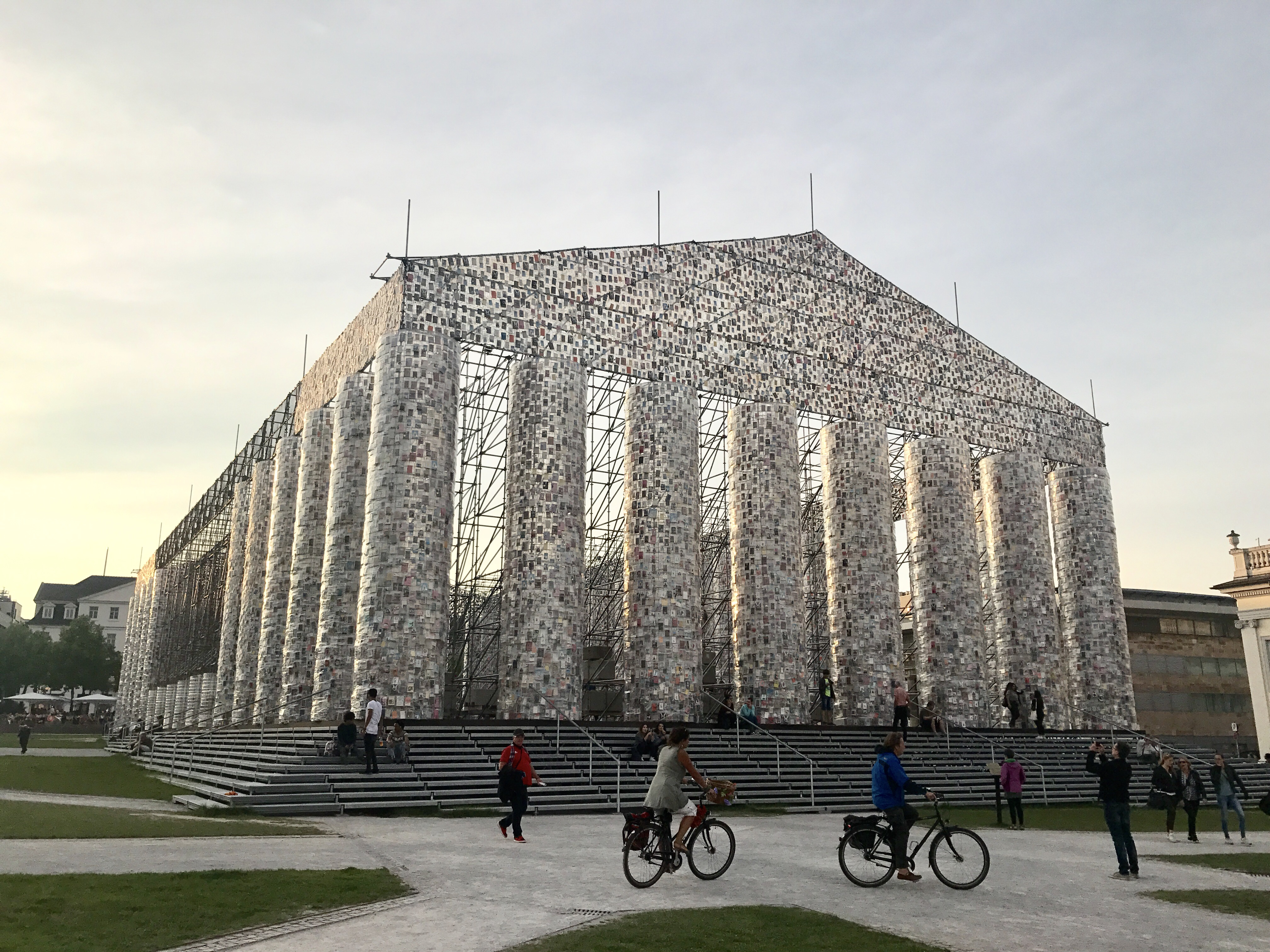 Parthenon of Books - Marta Minujín
