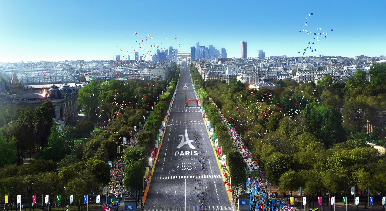 Imagem de divulgação do projeto Paris 2024