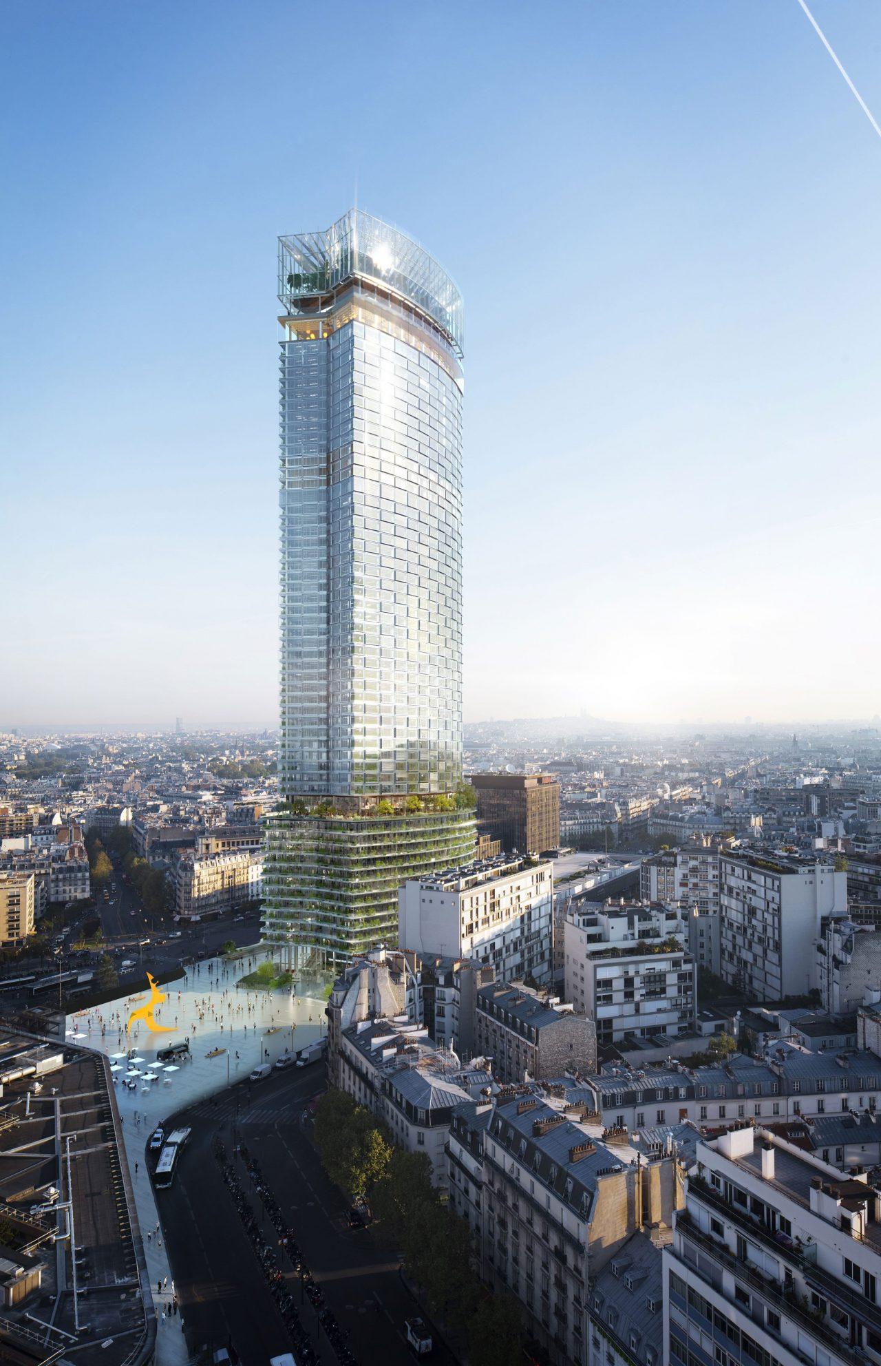 Projeto da nova Torre de Montparnasse, em Paris.