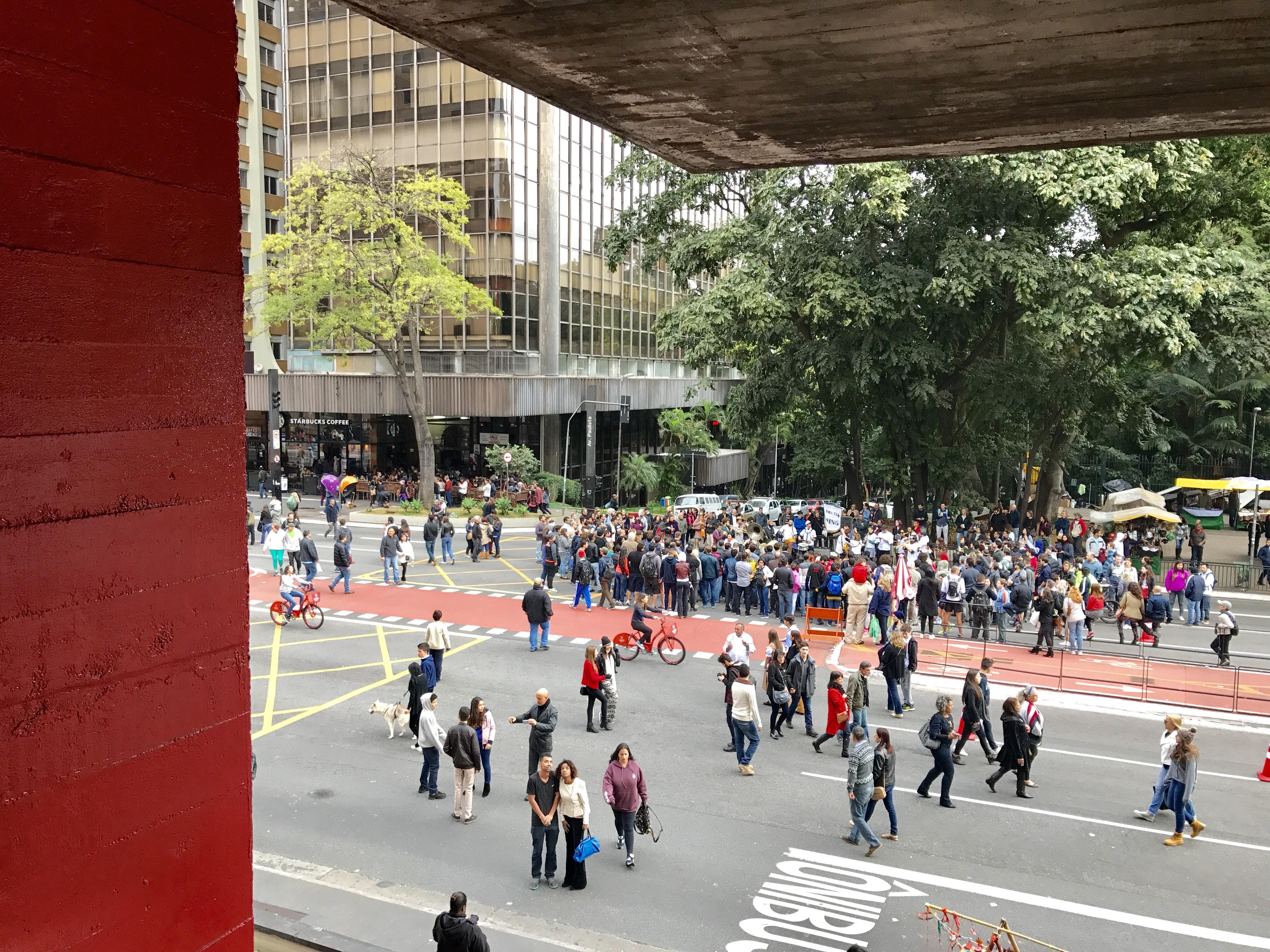 MASP Paulista aberta vão livre