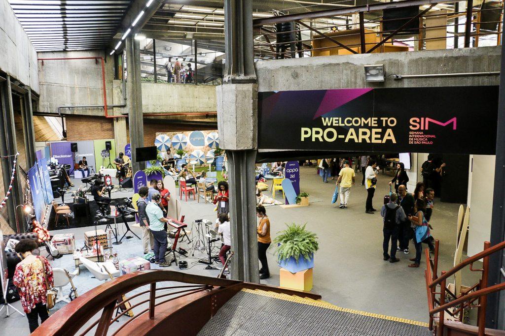 SIM São Paulo 2017 - Pró-Area, ótimo lugar pra networking. Foto: Thais Bergamo