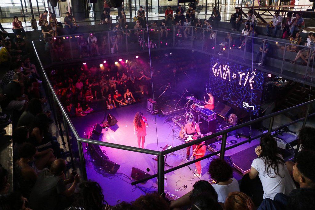 SIM São Paulo - CCSP Sala Adoniran Barbosa, onde acontecem os showcases diurnos. Foto: Thais Bergamo