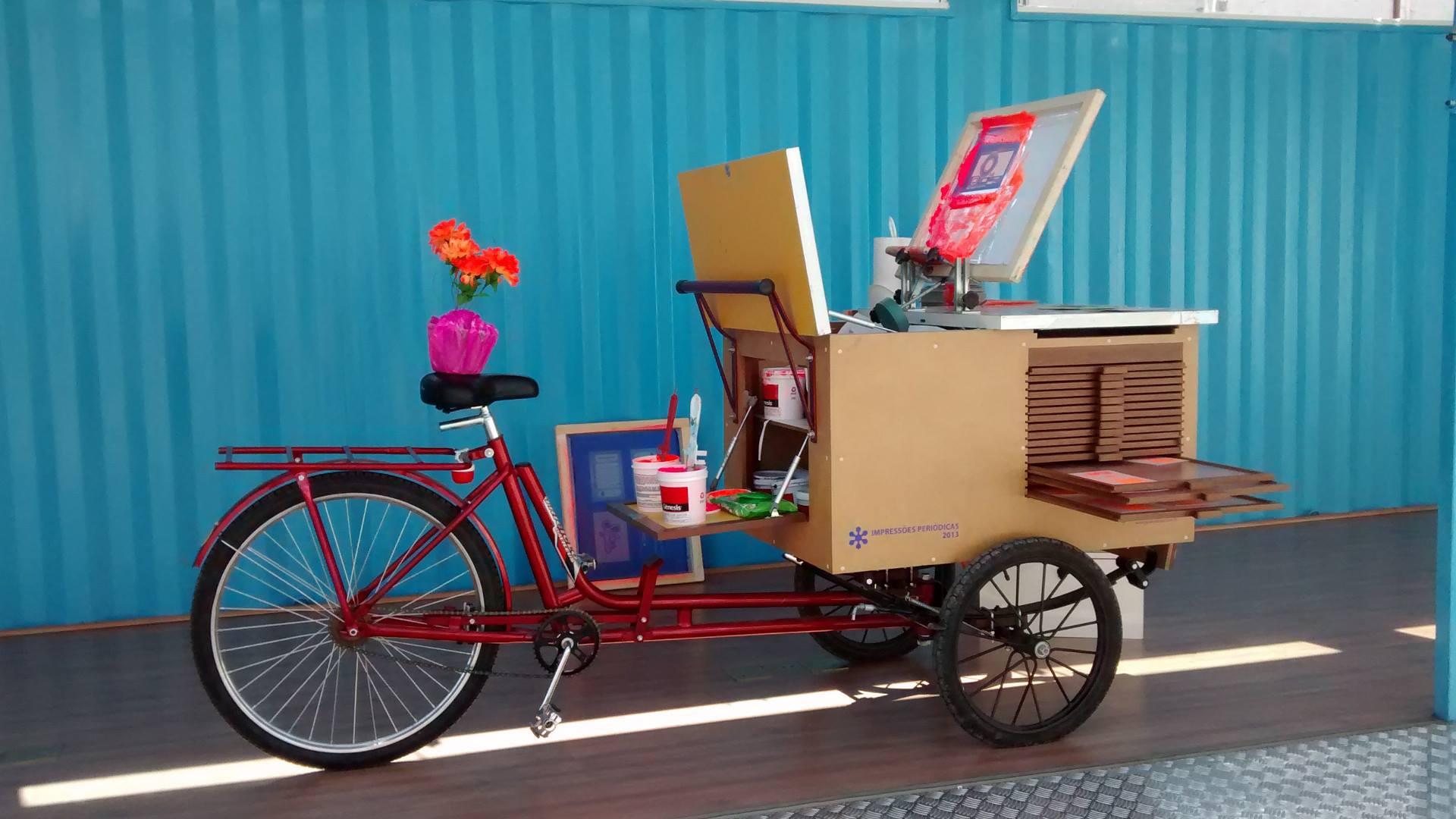 sericleta, bicicleta, serigrafia, IMS, IMS paulista