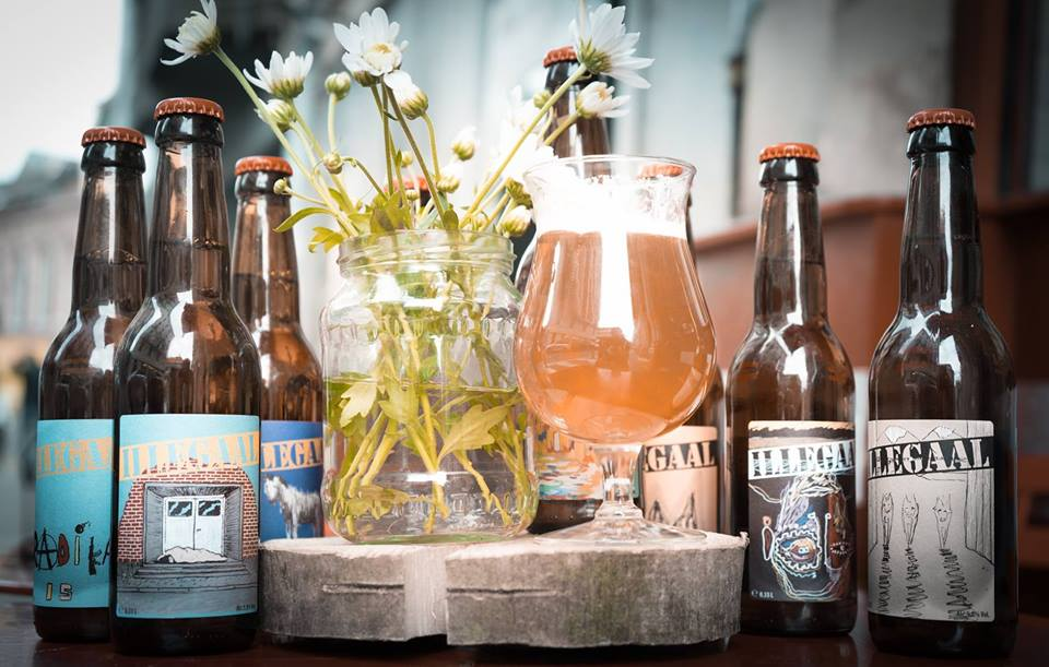 illegaal brasserie, cervejaria artesanal, cerveja belga, belgian beer, vila madalena