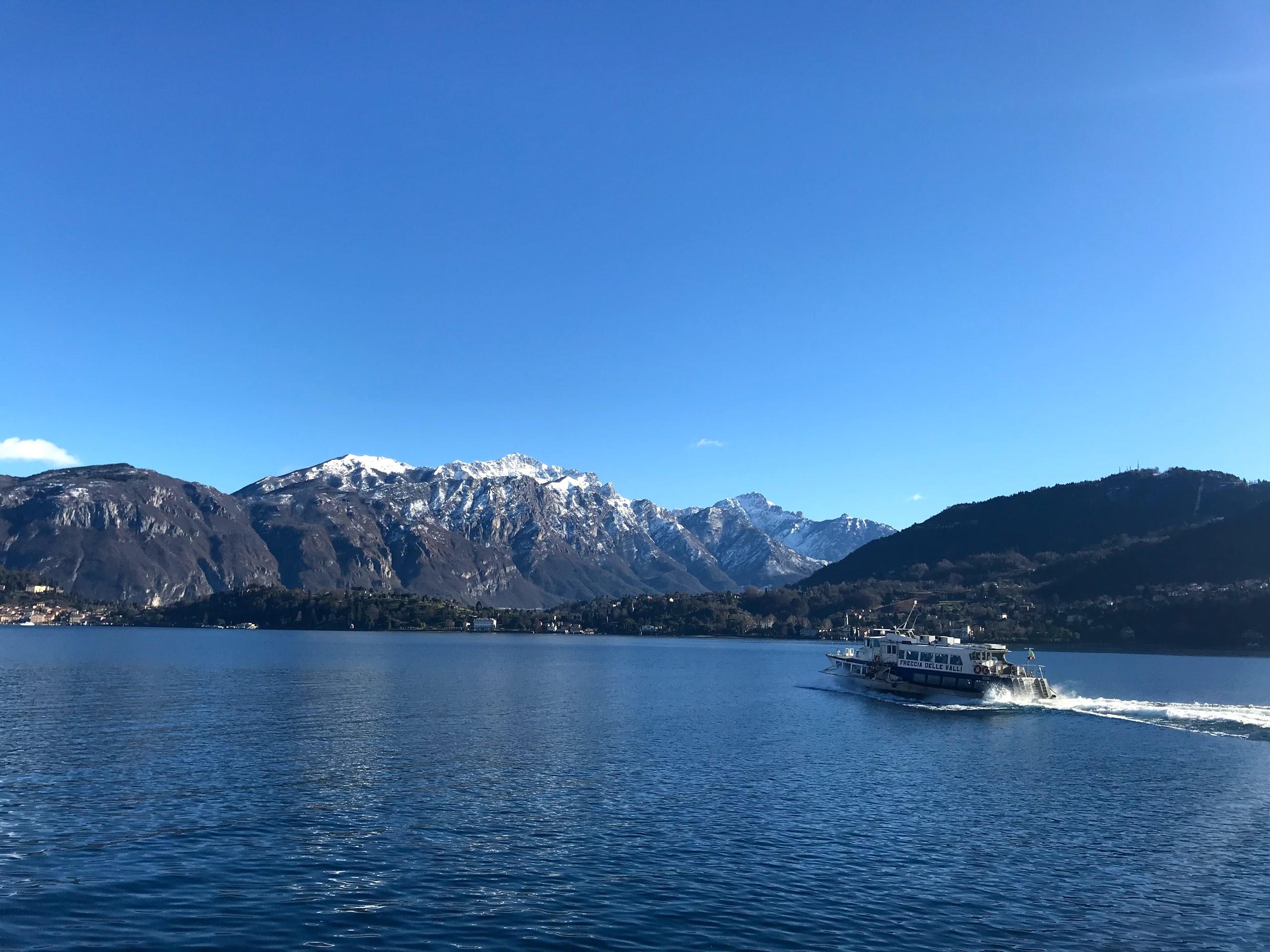 lago de como, itália, alpes