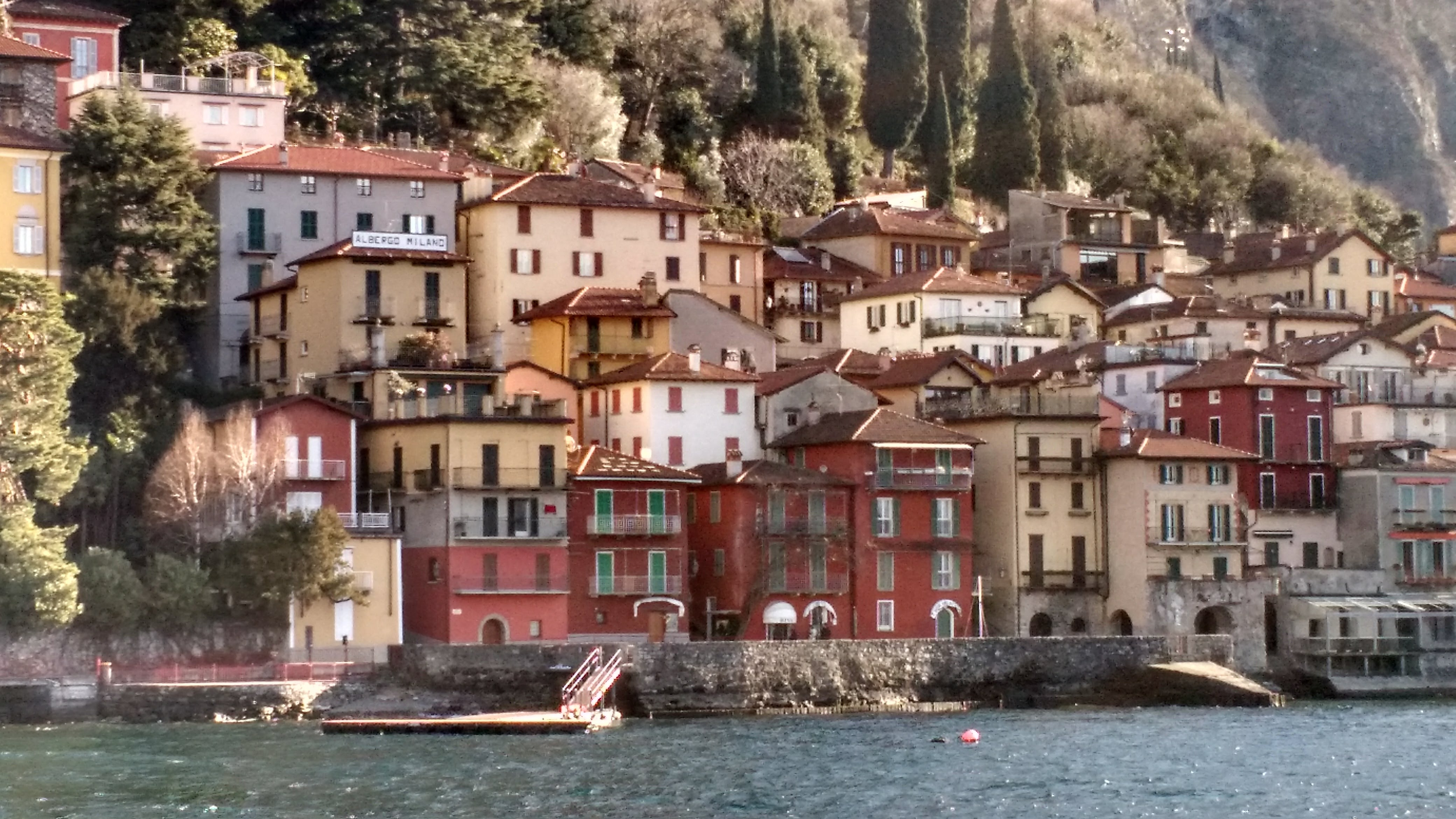 lago de como, itália, alpes, bellagio