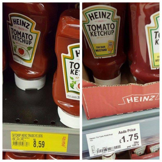 custo de vida, comparação de preços