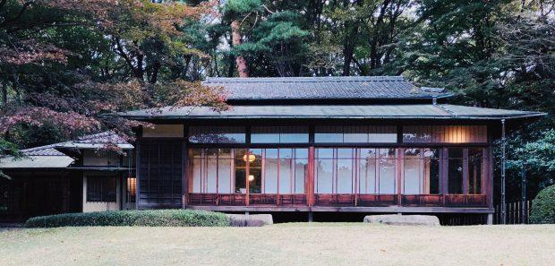 Casa de Chá no Inner Garden, Meiji Shrine, guia básico de Tóquio