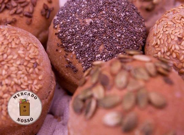pão, mercado nosso SP, espaço achadinhos, pinheiros, feirinha, food truck