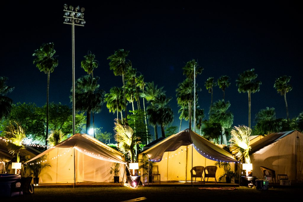 Coachella 2018 - Safari Tents