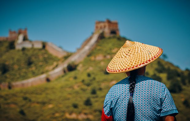 escala na China