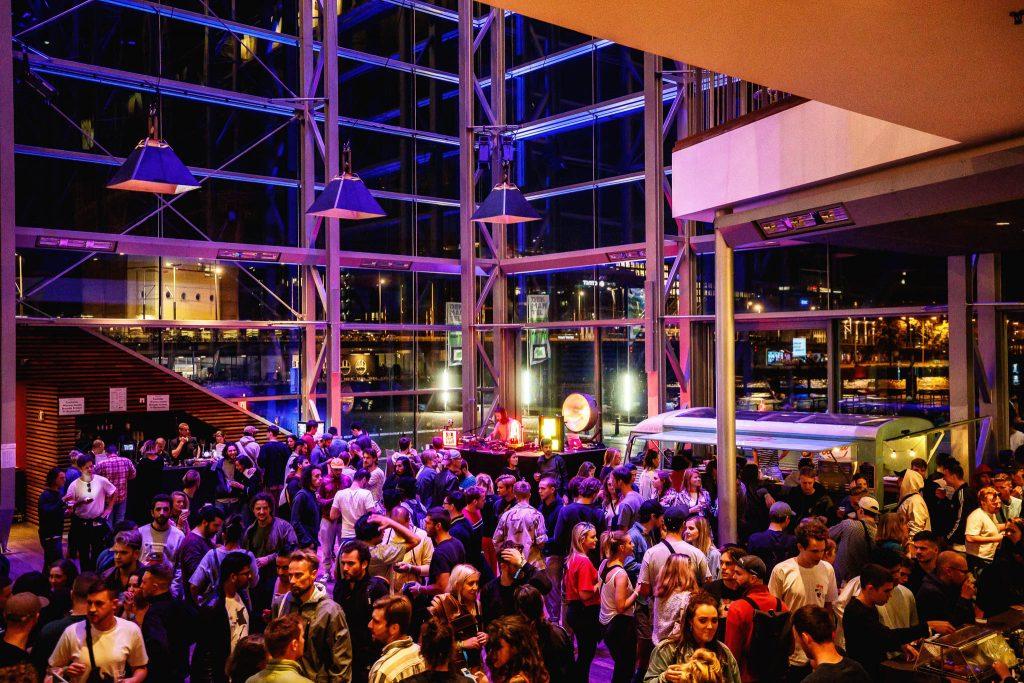 Dekmantel - Muziekgebouw aan't IJ. Foto: Bart Heemskerk