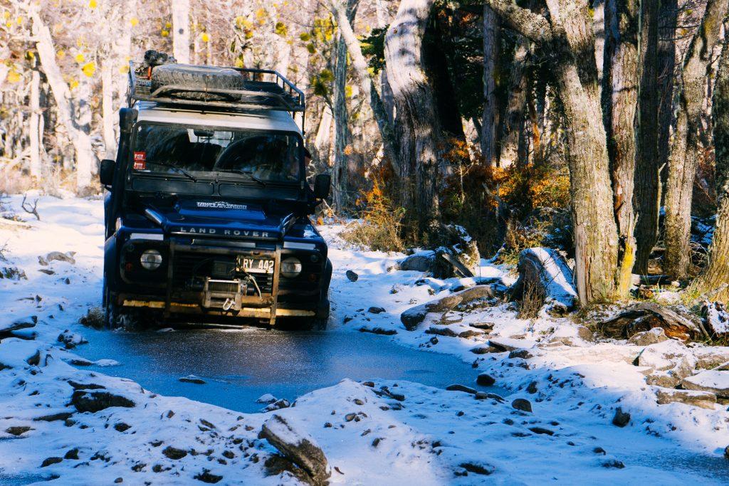 """A estrada """"fácil"""" pra chegar no Lago Fagnano. Ou é 4x4 ou é 4x4. Foto: Ola Persson"""