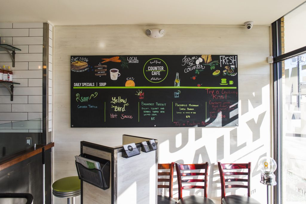 Counter Cafe, Austin. Foto: divulgação