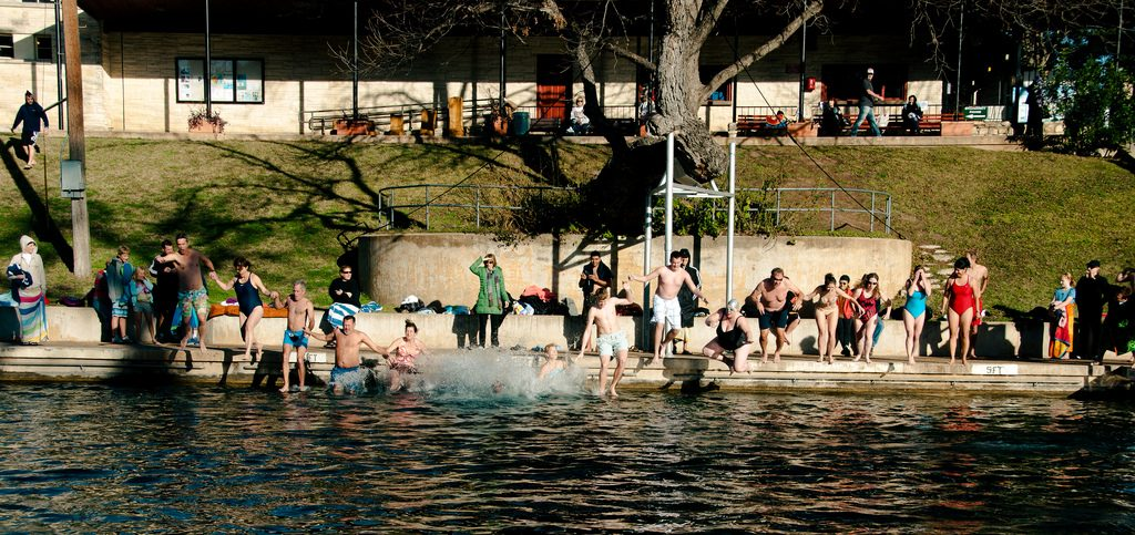 Barton Springs Pool, Austin. Foto: Randall Chancellor