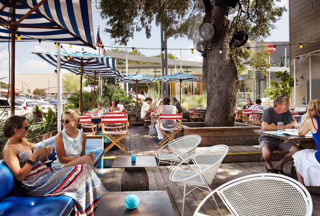 Perla's Oyster Bar, South Congress, Austin. Foto: divulgação