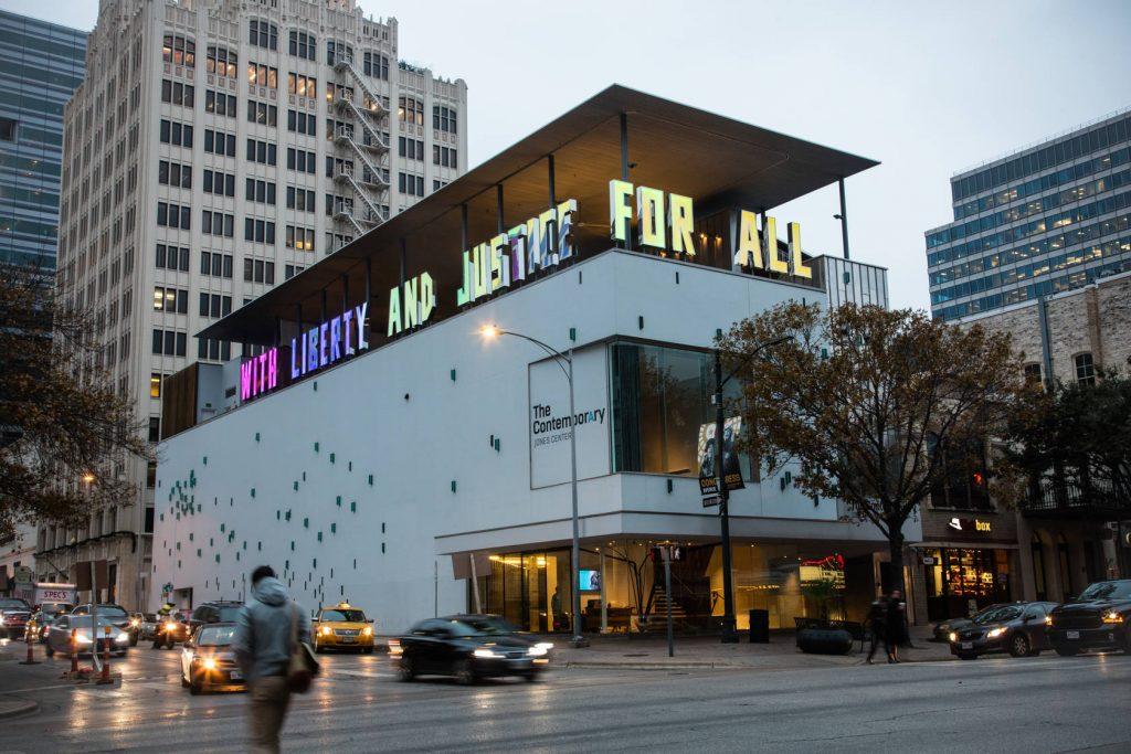 Contemporary Austin Jones Center. Foto: divulgação