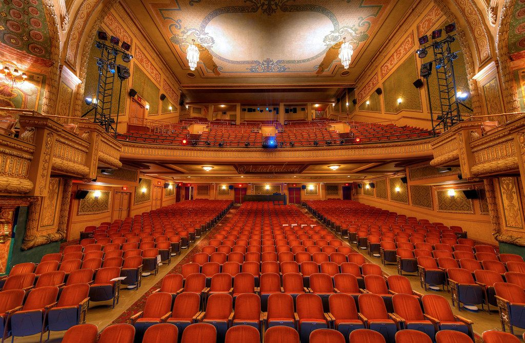 A sala do Paramount Theatre. Foto: Austin Pixels / flickr