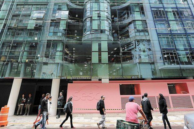 Ocupação Paulo Mendes da Rocha / Foto: Sesc 24 Maio/ Andre Porto-Metro