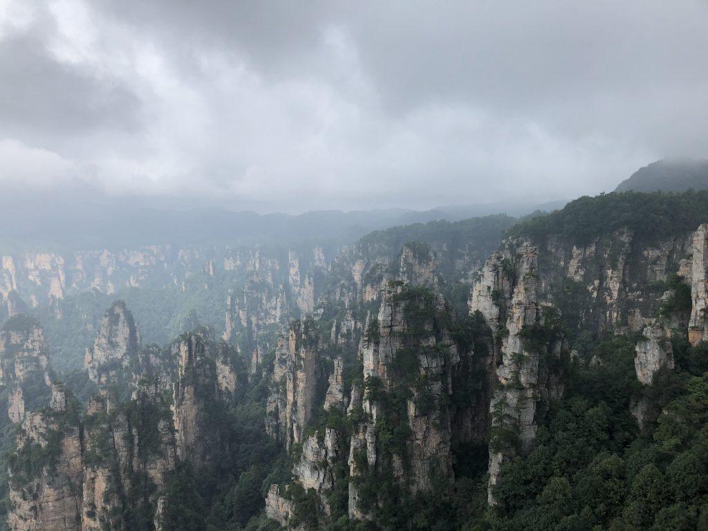 Zhangjiajie National Forest. Foto: Maria Claudia Pompeo Park.