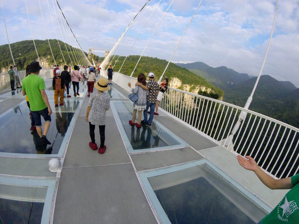Glass Bridge. Foto: Maria Claudia Pompeo