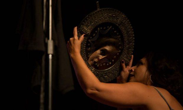 Espetáculo Pagu, Anjo Incorruptivel. Foto: Rayra Martins